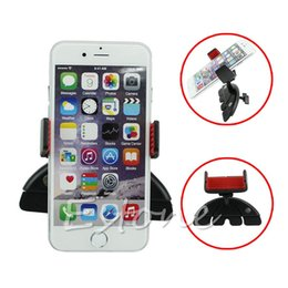 China Wholesale- Universal 360 degree Accessory Car CD Player Slot Mount Holder Cradle For Mobile Phone hot supplier mounting accessories suppliers