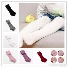 Gray Cotton Leggings Australia - Baby Girls braids Jacquard Pantyhose Ins hot Babyighs Infants Cotton Tights Kids Cute leggings stocking 6colors B11