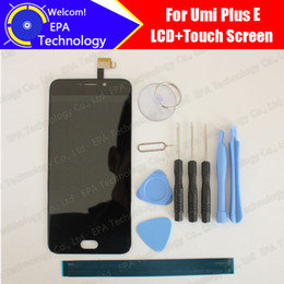 China Wholesale- Umi plus E LCD Display+Touch Screen 100% Original New Tested Digitizer Glass Panel Replacement For plus E+Tools+Adhesive supplier umi touch screen suppliers