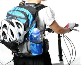 Bike Rucksacks Canada - Wholesale-2017 Shoulder Strap Bag Pouch Bicycle Backpack Bike rucksack cycling bag Knapsack Riding running New Outdoor Sports Bags Ride pack