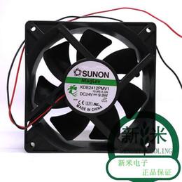 12 Cm Fan NZ - Original Sunon KDE2412PMV1 24V 9.9W 12 cm 120*120*38MM 2 Wire Fan