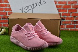 2017 Cheap Online Wholesale NEW young girl heart lovely pink Boost 350 Pirate Black pink Boost 350 Quility Right Version With Box from pink heart art manufacturers