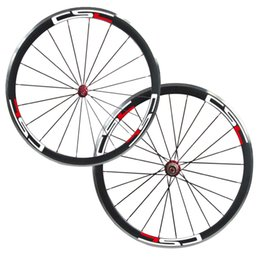 $enCountryForm.capitalKeyWord NZ - 700C 38mm clincher carbon bike wheels with aluminium braking surface Straight Pull Road Bike Wheels Carbon Alloy Wheelset for Road Bicycle