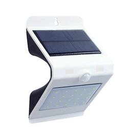 Wholesale New Pir Montion Sensor Solar Light 24led Touch Switch Solar Lamp Waterproof Outdoor Garden Solar Wall Light Pathway