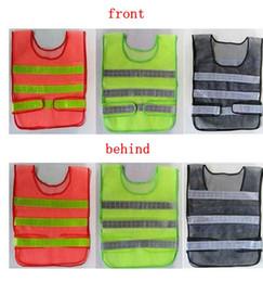 Emniyet Giyim Yansıtıcı Yelek Içi Boş ızgara yelek yüksek görünürlük Uyarı emniyet çalışma Inşaat Trafik yelek KKA1464