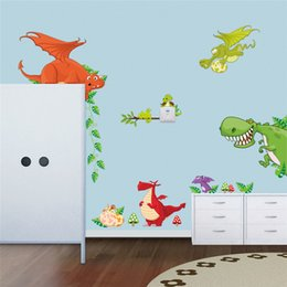 Creative DIY Wall Sticker Horse For Kids Room Carved Removable Kindergarten Stickers  Dinosaur Paradise Animal Pvc Decorating 2017 Wholesale Part 95