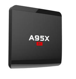 Chinese  A95X R1 Amlogic S905W Quad-core Android 7.1 1GB 8GB Smart TV Box HDMI2.0 4Kx2K 2.4G Wifi OTT IPTV TV Boxes PK MXQ PRO V88 manufacturers