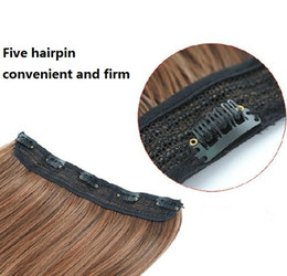 $enCountryForm.capitalKeyWord NZ - 70cm length Super Long hairpieces human Hair straight 5 clips in on hair extensions Blonde Black dark light Brown