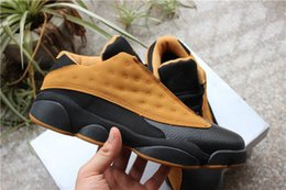 Yellow Glitter Canada - Wholesale with box 13 Low Chutney Wheat Black yellow MEN basketball shoes sports sneakers trainers high quality size 8-13