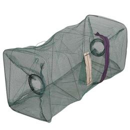 Crab gear online shopping - Crab Foldable Fish Net Crawdad Shrimp Minnow Bait Trap Cast Dip Nylon Fishing Net Cage