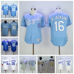 72e4e04e4 ... Kansas City Royals Jerseys 16 Bo Jackson Jersey Flexbase KC Bo Jackson  Baseball Jersey 1985 1987 ...