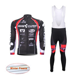 Chinese  NEW Team cube Pro Cycling Jerseys winter thermal fleece cycling clothing quick dry Long Sleeve mtb bike maillot ropa ciclismo C0429 manufacturers