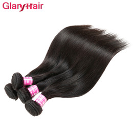 silky remy indian human hair Canada - Silky Mink Brazilian Hair Remy Human Hair Weaves Unprocessed Peruvian Malaysian Indian Cambodian Straight Hair Extensions Best Selling Items