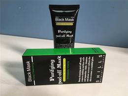 $enCountryForm.capitalKeyWord Australia - Black Suction Mask Anti-Aging 50ml SHILLS Deep Cleansing purifying peel off Black face mask Remove blackhead Peel Masks DHL free shipping