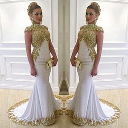 Discount Unique High Neck Trumpet Prom Dresses | 2017 Unique High ...