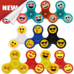 Fidget spiners online shopping - Fidget Spinners Fidget Toy Design Plastic Triangle Leaf Spiners Crab Claw Anti Anxiety Decompression Toys EDC Dhl