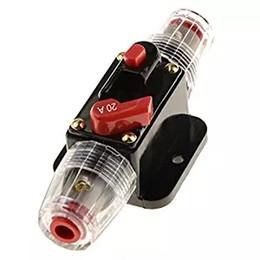 ZOOKOTO авто защита автомобиля стерео переключатель предохранители встроенный выключатель сброс предохранитель инвертор для автомобиля аудио системы защиты 20А