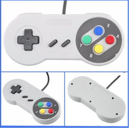 Usb sUper nintendo online shopping - Classic USB Controller PC Controllers Gamepad Joypad Joystick Replacement for Super Nintendo SF for SNES NES Tablet PC LaWindows MAC