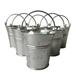 $enCountryForm.capitalKeyWord NZ - Metal cup Planter pot garden tin box Iron pots flower pot Zinc Planter Round wall planter vintage