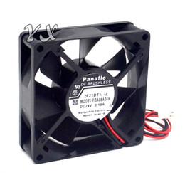 hydro aluminum 2019 - New FBA08A24H 8CM 8025 24V 0.15A fan drive for panaflo 80*80*25mm cheap hydro aluminum