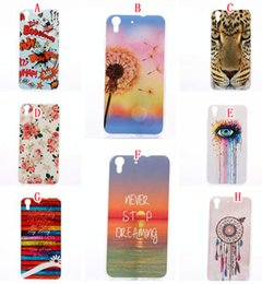 3d case tiger 2019 - New 3D Cartoon TPU Silicone Gel Soft Case For Huawei Y3 Y5 Y6 II 2 Flower Owl Dream catcher Hand Love Eye Tiger Bam Musi