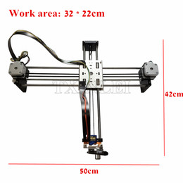 Advanced Pen Canada - DIY Smart Writing Drawing Robot Mini XY 2 Axis CNC Pen Plotter Machine Advanced Toy Stepper Motor Drive Inkscape 32x22cm