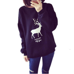 Wholesale- Autumn Fashion Lovers Harajuku Kawaii Printed Sweatshirt Pullover Frauen Trainingsnazug Design Long Sleeve Damen weiblich Pullover