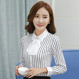 78dc432be56 Spring Autumn female career shirt OL Elegant long-sleeve slim blouse office  Formal plus size work wear plus size women's tops