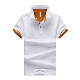 brand mens polo NZ - 2018 M-4XL 100% Cotton Solid Mens POLO Shirts Brand Cotton Short Sleeve Camisas Polo Summer Stand Collar Male Polo Shirt