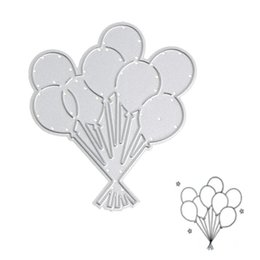 Diy balloons online shopping - Balloons Metal Cutting Dies Stencil DIY Scrapbook Card Album Paper Embossing Craft