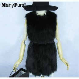 $enCountryForm.capitalKeyWord Canada - 2017 new Lady Fashion winter and autumn Genuine fox Fur Vest Waistcoat long Style Newest In Stock women furs coat
