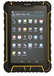 China Hot selling 7inch Rugged tablet PC 4G LTE 2GB 16GB RAM ROM support barcode scanner and RFID optional suppliers