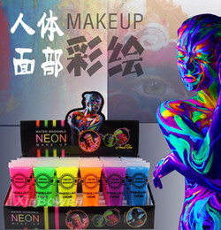 direct hoses NZ - Factory direct high-quality does not hurt the skin color hose decorated cream cream makeup face color Halloween green body painting cosplay