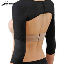 Mujer Body Correction Underwear Sculpting Hump Back formando mangas largas venta caliente HT0135