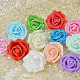 $enCountryForm.capitalKeyWord Canada - 6CM 8 colors Handmade Artificial Foam Rose Flower Heads DIY wedding bouquet flowers wreath wedding arch wall flower accessories
