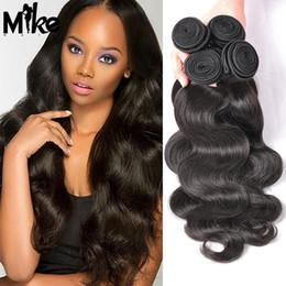 Discount hair weave natural look 2017 hair weave natural look on 2017 hair weave natural look brazilian body wave hair weave bundles 100 natural human hair pmusecretfo Gallery