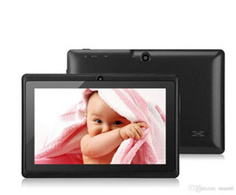 Webcam Wifi Tablet Australia - 7 inch tablets Q88 full A33 qual core dual camera 512GB 4G wifi bluthooth android4.2