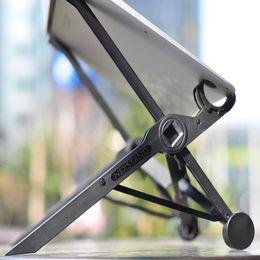 Toptan satış evrensel dizüstü soğutma ana dizüstü standı tutucu dizüstü standı ve fikstür dizüstü yüksekliği ayarlanabilir 360 ° soğutma