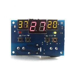 Détecteur de température numérique intelligent de XH-W1401 détectez 10A 12V 220V avec l'affichage à LED rouge synchrone de trois fenêtres de NTC