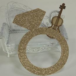 $enCountryForm.capitalKeyWord Canada - Hot sale Rings glitter paper Decor Birthday Party, New Year,Craft
