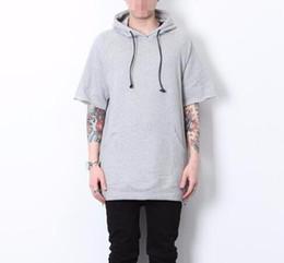 Short Sleeve Zip Hoodie Online | Short Sleeve Zip Hoodie for Sale