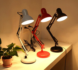 Student Study lamp online shopping - Creative eye care desk lamp student learning dormitory work energy saving reading folding bedroom bedside lamp