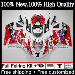 fairings ducati 1098 2021 - Body For DUCATI 848 1098 1198 07 08 09 10 11 Stock red 848R 1098R 14PG21 848S S R 1098S 1198S 2007 2008 2009 2010 2011 Fairing Bodywork