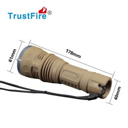 Scuba dive flaShlight online shopping - Professional Scuba Diving LED Flashlight Emergency LED Torch Aluminum underwater Rechargeable Flash Light Spare O ring Holster Gift