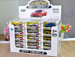Discount diecast model race cars - 1:87 Diecast Cars & Model Vehicle 2017 Top Quality Baby Toy Cars Diecast Car Model Racing Car Model Toys Christmas Gifts
