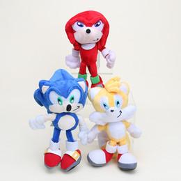 "China Sonic The Hedgehog Plush toy Hedgehog stuffed Plush Dolls 8 "" Toys Christmas Gift retail suppliers"