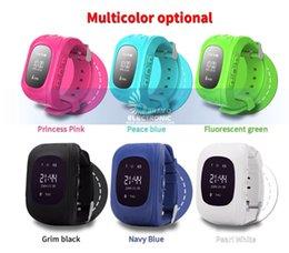Q50 rastreador gps para criança kid smart watch sos chamada de segurança localizador localizador rastreadores smartwatch para crianças dos miúdos monitor anti perdido em Promoção