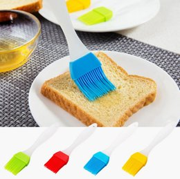 Wholesale kitchen pastry bread baking oil brush bakeware oil cream meat brush cooking basting tools BBQ kitchen accessories random color