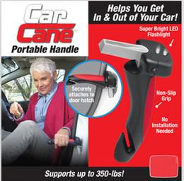 Auto Escape Australia - Portable 3 in1 Car Cane Car Handle Emergency Escape Cane Support Auto Assist Grab Bar Vehicle Hammer Tool Window Breaker Seat Belt Cutter