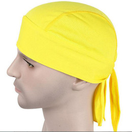 Sweat Absorbing Hats Canada - Sweat Absorbed Riding Headbands Cycling  Outdoor Sports Bicycle Hat Cap Quick d66c932fc19
